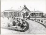 Rotorua Hospital in Rotorua's Government Gardens. Burton Bros Photo ; 310