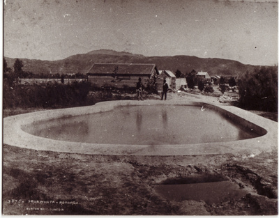 Oruawhata, part of Government gardens, Rotorua..