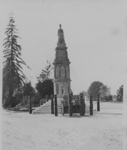 War memorial in Rotorua's Government Gardens.
