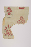 Fragment, wallpaper; c1950s; IH100.004