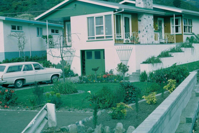 Image taken from slide showing the house at 11 Hil...