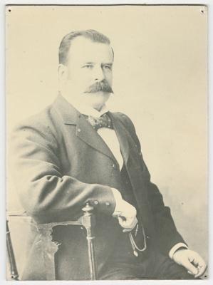 Photograph, Sir Joseph Ward; Unknown Photographer; 1890-1920; BL.P153