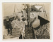 Photograph, Oystering on the 'Toiler' (with Taratahi life buoy); Unknown Photographer; 1930-1940; BL.P729(i)