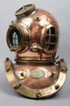 Diving helmet; Siebe Gorman & Company Limited; 1940-1950; BL.11.18