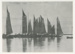 Photograph, Oyster Fleet; Unknown Photographer; 1895; BL.P488