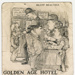 Cartoon, Bluff Beauties, Golden Age Hotel ; Unknown Maker; 1900-1920; BL.P722