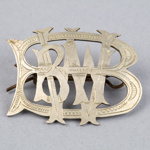 Badge, Bluff Waterside Workers Band; Unknown Maker; 1920-1950; BL.B010.16