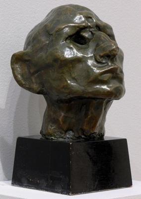 Idiot: Self Portrait, Henri Gaudier-Brzeska, 1912, 1956/33
