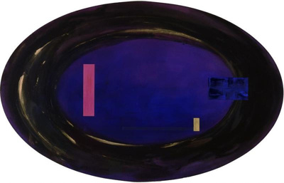 Nocturne (nomadic geometries II), Gretchen Albrecht, 1992, 1992/18