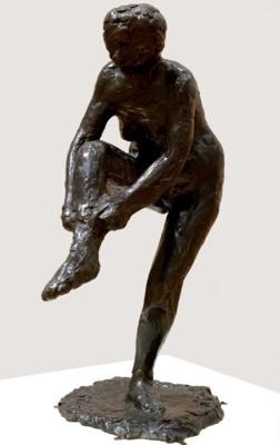 Femme Mettant Son Bas, Edgar Degas, 1956/29