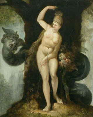 The Serpent tempting Eve (Satan's first address to Eve), Henry Fuseli, 1802, 1887/1/13