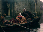 In Time of Peril, Edmund Blair Leighton, 1897, MU/81