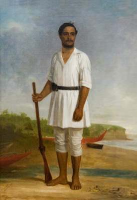 Hami Hone Ropiha (John Hobbs), William Ewart, 1862, 1887/1/41