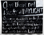 Are there not twelve hours of daylight, Colin McCahon, 1970, C1994/1/144