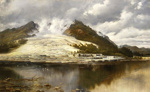 White Terraces, Rotomahana, Charles Blomfield, 1897, U/27