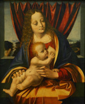 Madonna and Child, Marco d' Oggiono, circa 1490, M1966/1