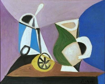 Verre et Pichet, Pablo Picasso, 24/07/1944, L1999/15