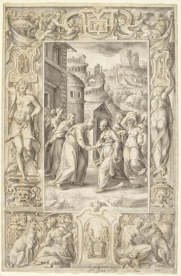 The Visitation, Giulio Clovio, 16th century, MU/292