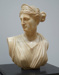 Artemis (bust with green marble pedestal); Unknown (School of Canova); 1929/9/5