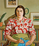 Portrait of Betty Curnow, Rita Angus, 1942, 1970/6
