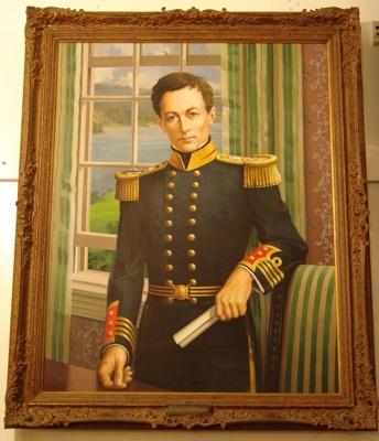 Captain William Hobson R.N., 1957.6.1