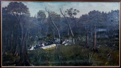 Painting; Picnic at Woodhaugh Valley; 1919/134/1355