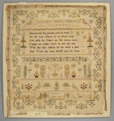 Sampler; 1846; 1977/25/1