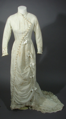 Jane Grey wore this dress for her wedding to Walte...