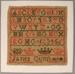 Sampler; 1829; 1939/102/20