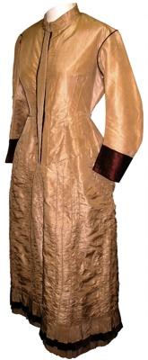 Wedding dress; 1875; 1999/19/1