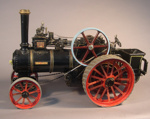 Model traction engine, made by Albert D. Oldham; Albert D. Oldham; 1972/2/1