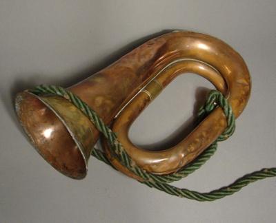 Bugle owned by John Graham. In 1861 John 'Jock' Gr...