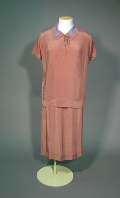 "This late 1920s ensemble, made from ""Celanese Ma..."
