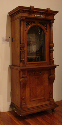 This Polyphon music box was owned by Charles and C...