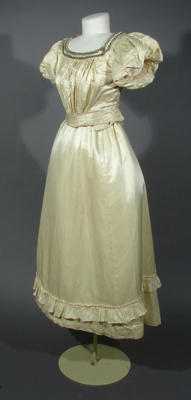 This ball gown was donated from a deceased estate ...