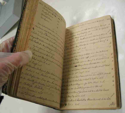 The 'Visitation Book' of Rev Thomas Burns is t...
