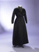 Dress; black silk day dress; Drapery Supply Association; c1914; 1992/222/7