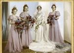 Wedding dress; 1940; 2007/85/1