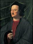 Man With A Rose ; Ridolfo Ghirlandaio; 16th Century; 11-1967