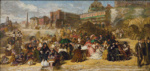 Sketch for Ramsgate Sands or Life at the Seaside ; William Powell Frith; 1851-1852; 1-1946