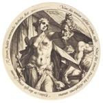 Judith and Holofernes ; Hendrik Goltzius; 36-1991