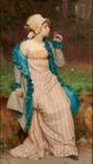 He Loves Me, He Loves Me Not ; Charles Edward Perugini; 1-1892