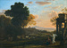 Landscape with Hagar and the Angel ; Claude Lorrain; 1654; 120-1982