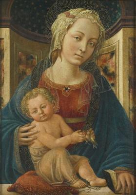 Madonna and Child ; Zanobi Machiavelli; 1452-1453; 20-1973
