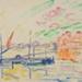 Port de Saint Tropez ; Paul Signac; c 1892; 237-1982