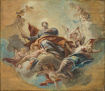 The Apotheosis of St Paul ; Carlo Innocento Carlone; 49-1982