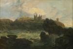 Dunstanborough Castle, Northumberland ; Joseph Mallord William Turner; c 1799; 4-1931