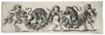Putti with Dancing Leopards ; Stefano Della Bella; c 1650; 195-1982
