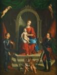 Madonna and Child Enthroned ; Garofalo (Benvenuto Tisi); c 1481-1559; 10-1967