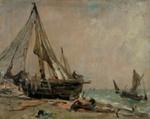 Brighton Beach ; John Constable; c 1824-1826; 5-1943